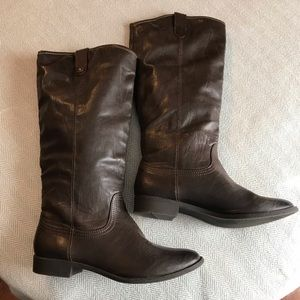 Sonoma brown tall boots size 8.5